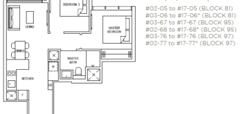 the-florence-residences-floor-plan-2-bedroom-2c1-singapore