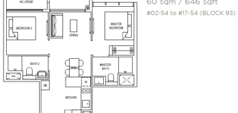 the-florence-residences-floor-plan-2-bedroom-2d1-singapore