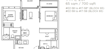 the-florence-residences-floor-plan-2-bedroom-2s1-singapore