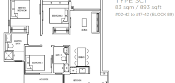 the-florence-residences-floor-plan-3-bedroom-3c1-singapore