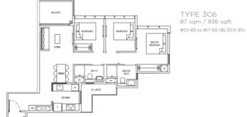 the-florence-residences-floor-plan-3-bedroom-3c6-singapore