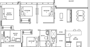 the-florence-residences-floor-plan-4-bedroom-4c2a-singapore