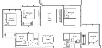 the-florence-residences-floor-plan-4-bedroom-4c3-singapore