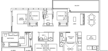 the-florence-residences-floor-plan-5-bedroom-5b1-singapore